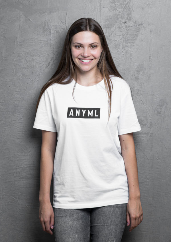 ANYML Shirt - Logo White