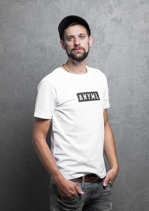 ANYML Shirt - Logo White 2