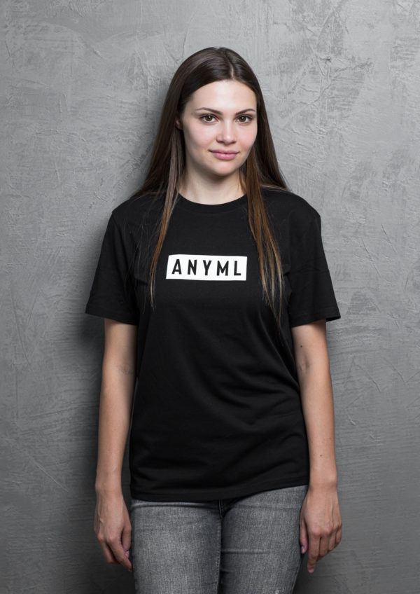 ANYML Shirt - Logo Black 2