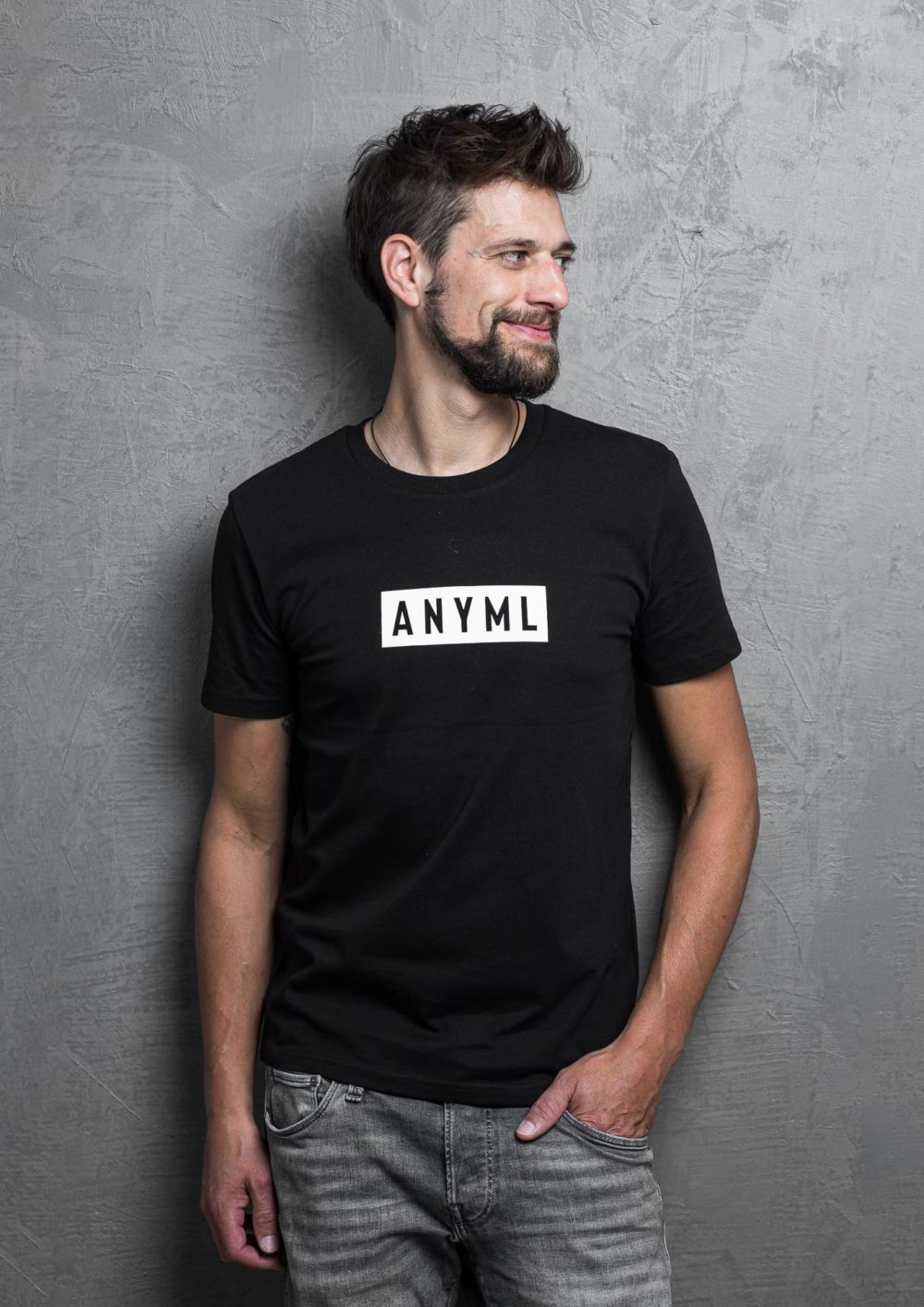 ANYML Shirt - Logo Black