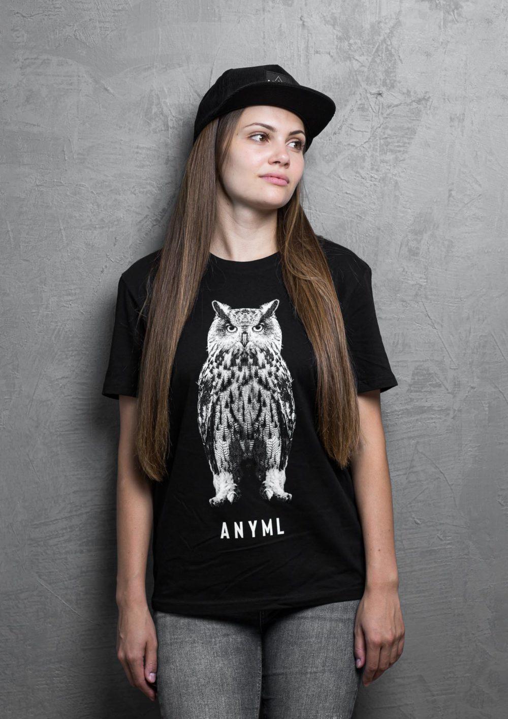 ANYML Shirt - Bubo bubo | Eule