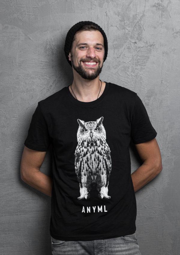 ANYML Shirt - Bubo bubo | Eule 2