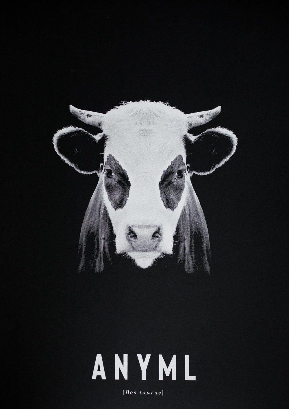 ANYML Siebdruck - Bos taurus | Kuh